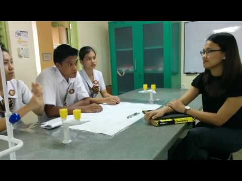 Interview on Research Topics under the Field of Chemistry 2