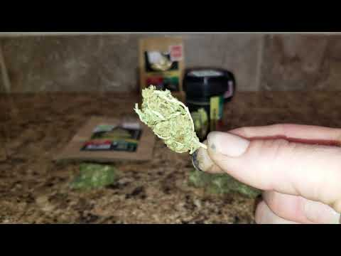 Illuminati Hemp CBD Hemp Flower Review Purple Rhino X New York City Diesel 7