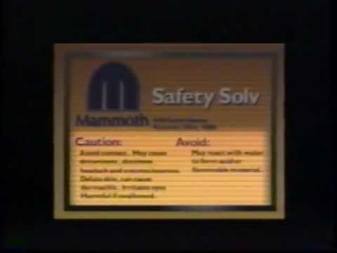 Worker Right to Know: Chemical Labeling 1987 AFL-CIO 2