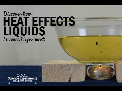 How Heat Effects Liquid Science Experiment 2