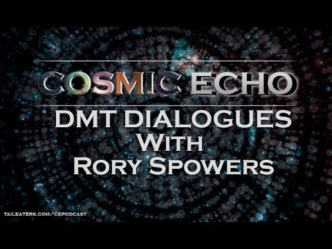 DMT Dialogues with Rory Spowers    Cosmic Echo Podcast 2