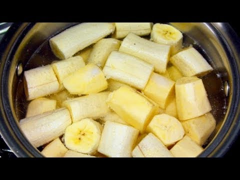 Boil Bananas And Drink The Liquid, THIS Will Happen To Your Body! 2
