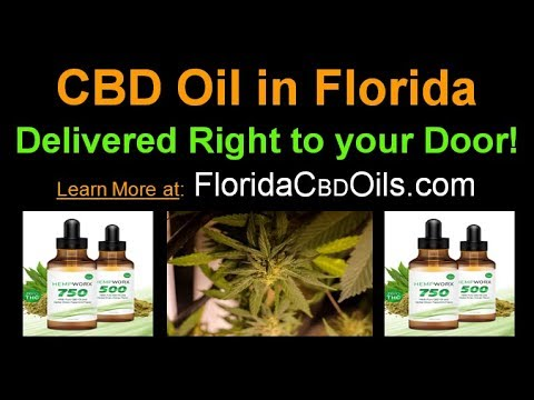 CBD Oil in Florida - Delivered to You without a Prescription – 100% Organic Florida CBD Oil 2