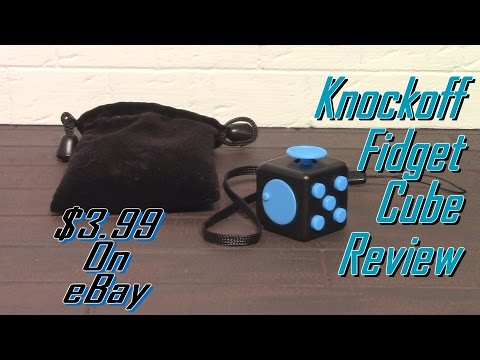 Knockoff Fidget Cube Review $3.99 On eBay 2