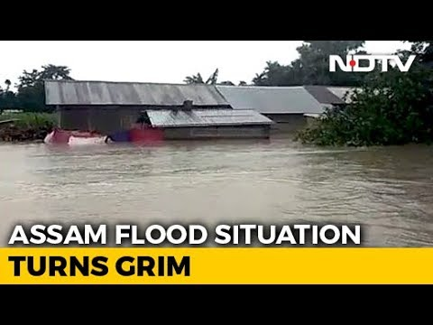 17 Assam Districts Flooded; No Ferry Services As Rivers Above Danger Mark 2