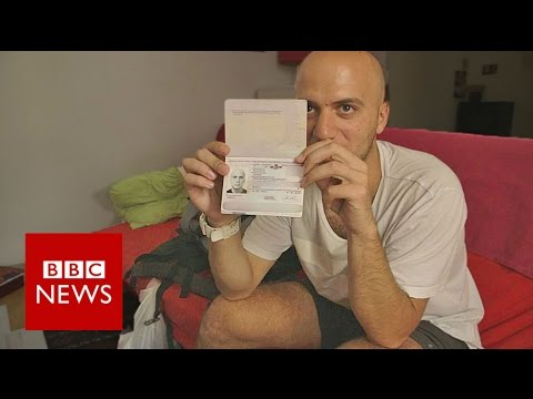 Exodus: I tried to fly to London on a fake passport - BBC News 2