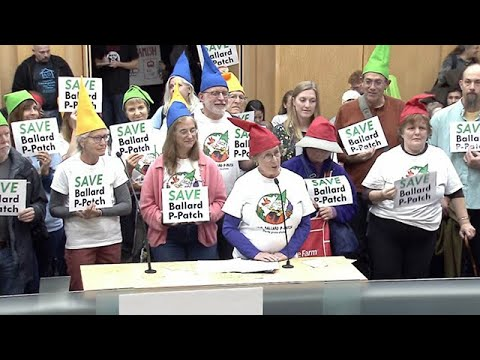 Seattle City Council: Select Budget Committee Public Hearing 10/22/19 2