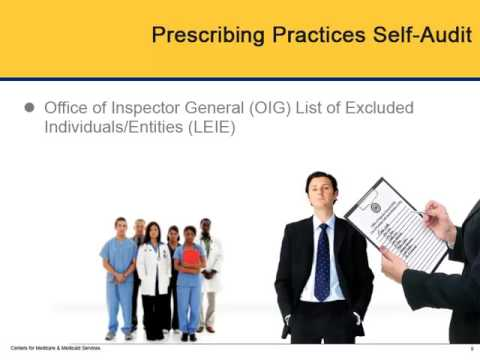 Pharmacy Practices to Improve Medicaid Program Integrity & Quality – Module 1 Prescribing Practices 2