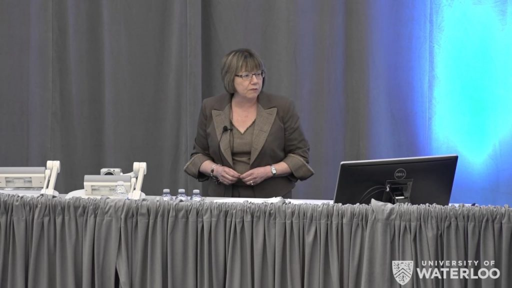Anne McLellan Lecture and Panel. School of Public Health and Health Systems 2