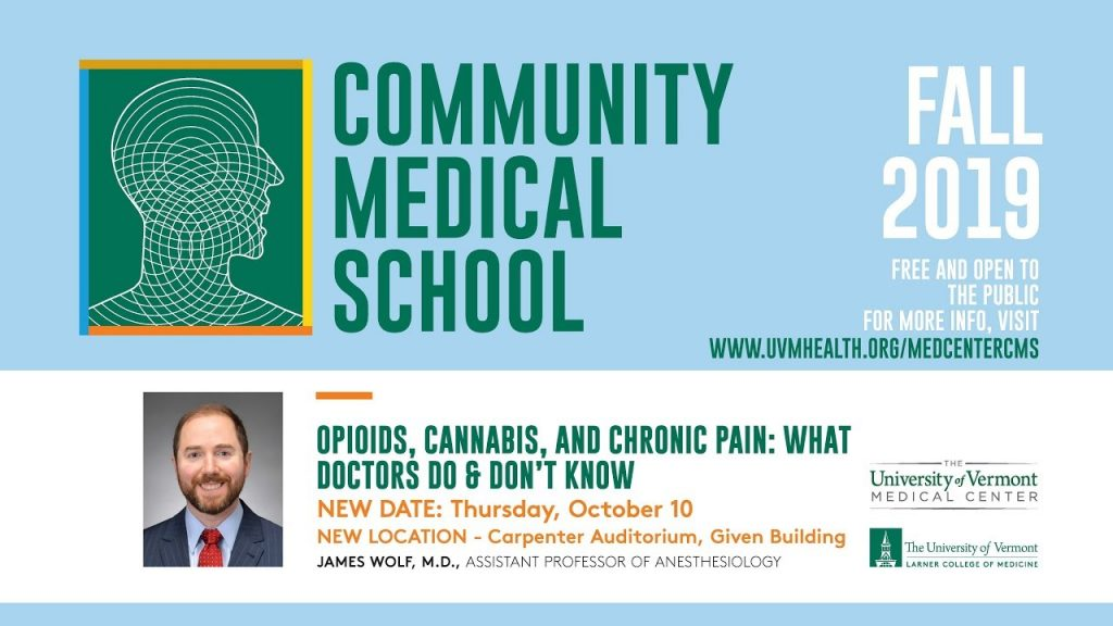 Opioids, Cannabis and Chronic Pain: What Doctors Do & Don't Know 2