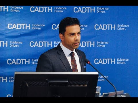 CADTH Lecture Series — Canada's Opioid Crisis by Dr. Hakique Virani 2