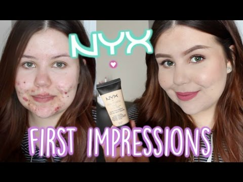 First Impressions   NYX Stay Matte But Not Flat Liquid Foundation 2