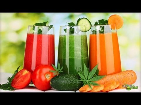 The Power of Juicing RAW Cannabis - Dr William Courtney 2