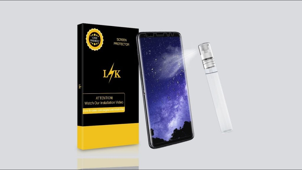 LK Liquid Skin Screen Protector Wet Installation for Samsung Galaxy S10/S10 Plus & Other Phone 2