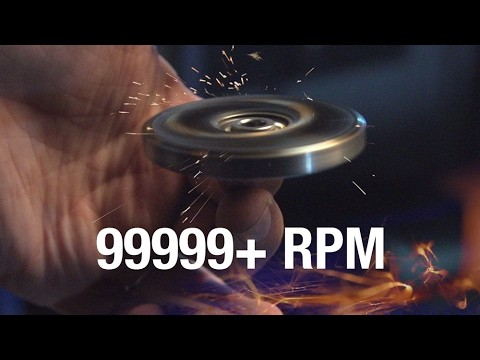 99999+ RPM Fidget Spinner Toy //Cause I Can 2