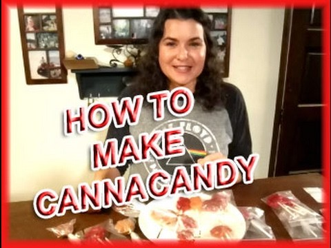 How to Make Cannabis Candy / Lollipops using Bud Butter, Kief & Marijuana Tinctures 2