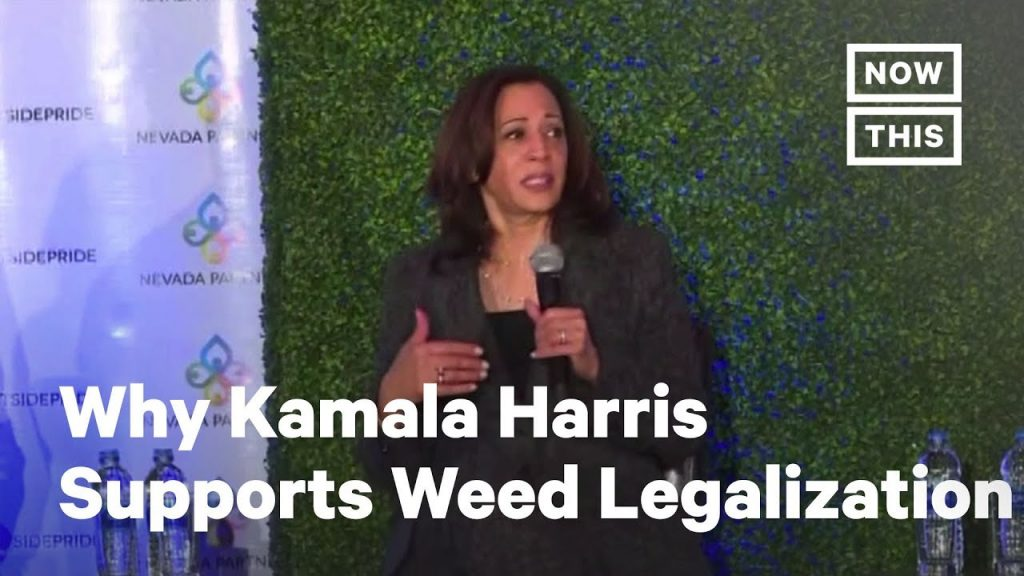 Why Kamala Harris Supports Legal Weed | NowThis 2