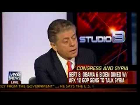 Crisis In Syria - Legal Issues Over Possible US Military Strike - Judge Andrew Napolitano -Studio B 2