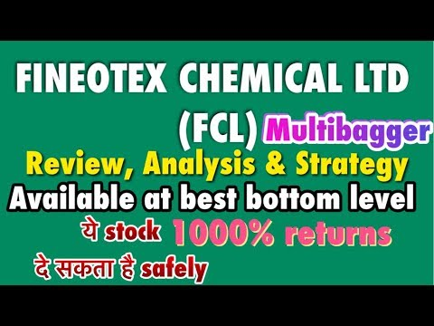 Fineotex Chemical ltd.(Fcl) Stock available at best level, Review & Strategy  1000% multibagger 2