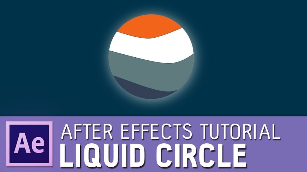 Liquid Circle Fill in After Effects - Shape Layer and Masks usage tutorial 2
