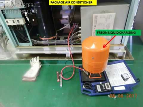 How To: Charge Freon Liquid / Gas in Air Conditioner System? 2
