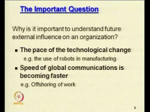 Mod-03 Lec-30 Environmental analysis Techniques and impact for organizational growth 2