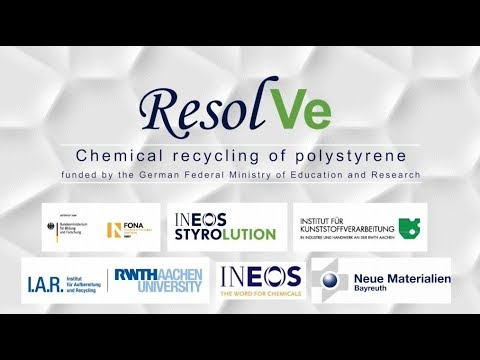 ResolVe - Chemical recycling of polystyrene (K 2019) 2