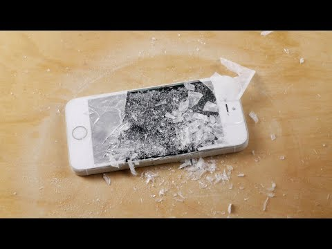 iPhone 5S in Liquid Nitrogen Freeze Test! 2