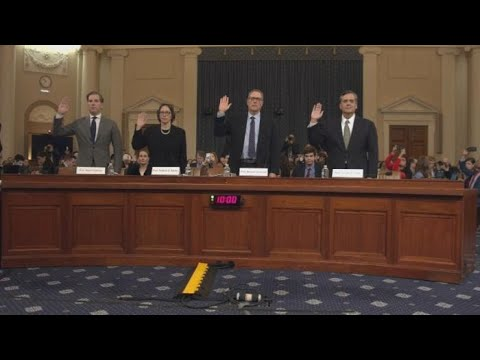 Legal experts testify Trump should be impeached 2