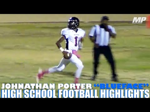 Blueface High School Football Highlights 2