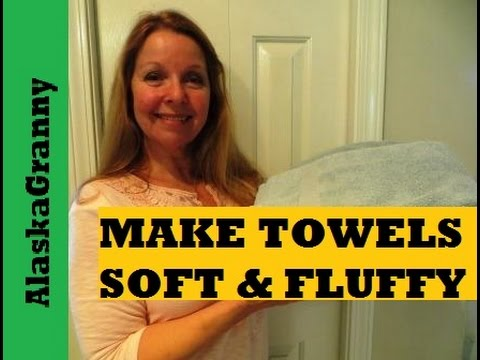 Make Towels Soft And Fluffy Again- Laundry Tips Tricks Hacks 2