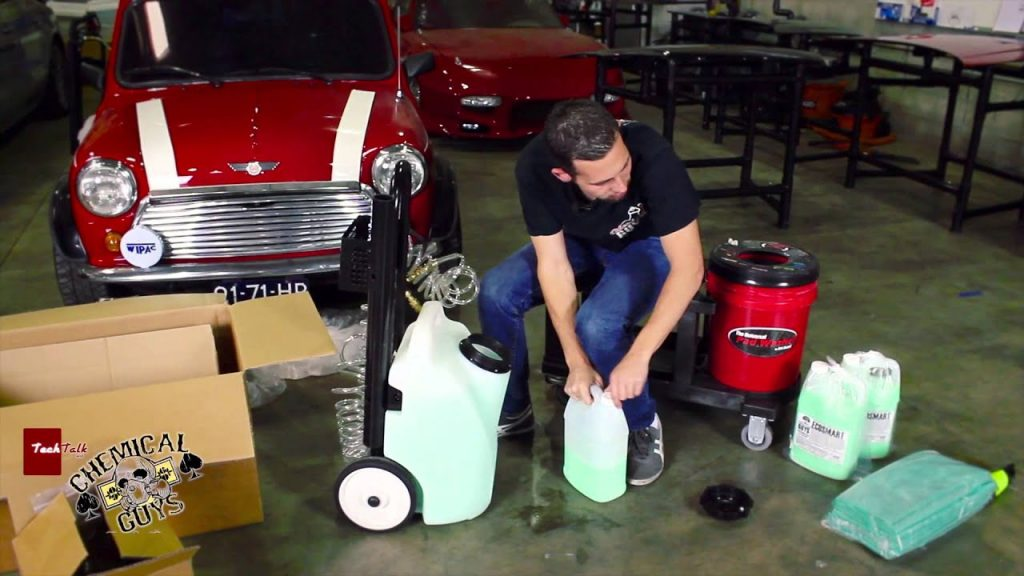 Chemical Guys POD Assembly - ECOSMART Waterless Detailing - Epic Shine Car Care 2