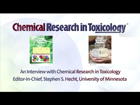 Interview with Stephen S. Hecht, Editor-in-Chief, Chemical Rsearch in Toxicology 2