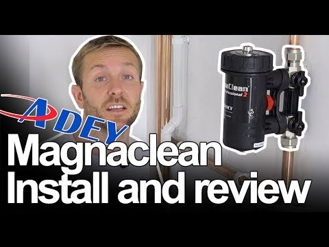 MAGNACLEAN MAGNETIC FILTER INSTALL AND REVIEW - Plumbing Tips 2
