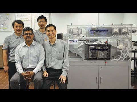 Water-based Air Conditioner cools without harmful Chemicals 2
