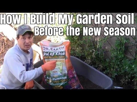 How I Build My Raised Bed Garden Soil Before the New Planting Season 2