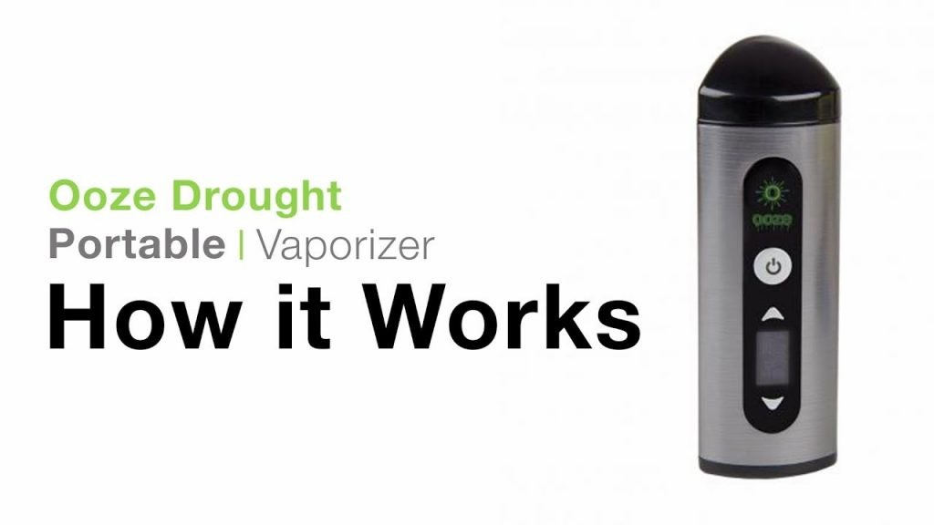 Ooze Drought Dry Herb Vaporizer Tutorial 2